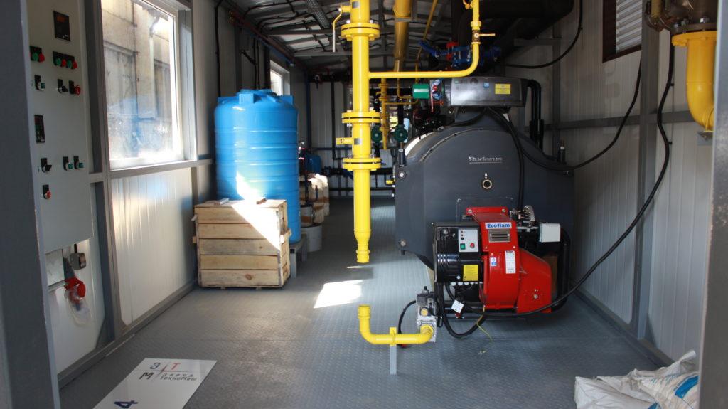 Водоподготовка для водогрейной котельной