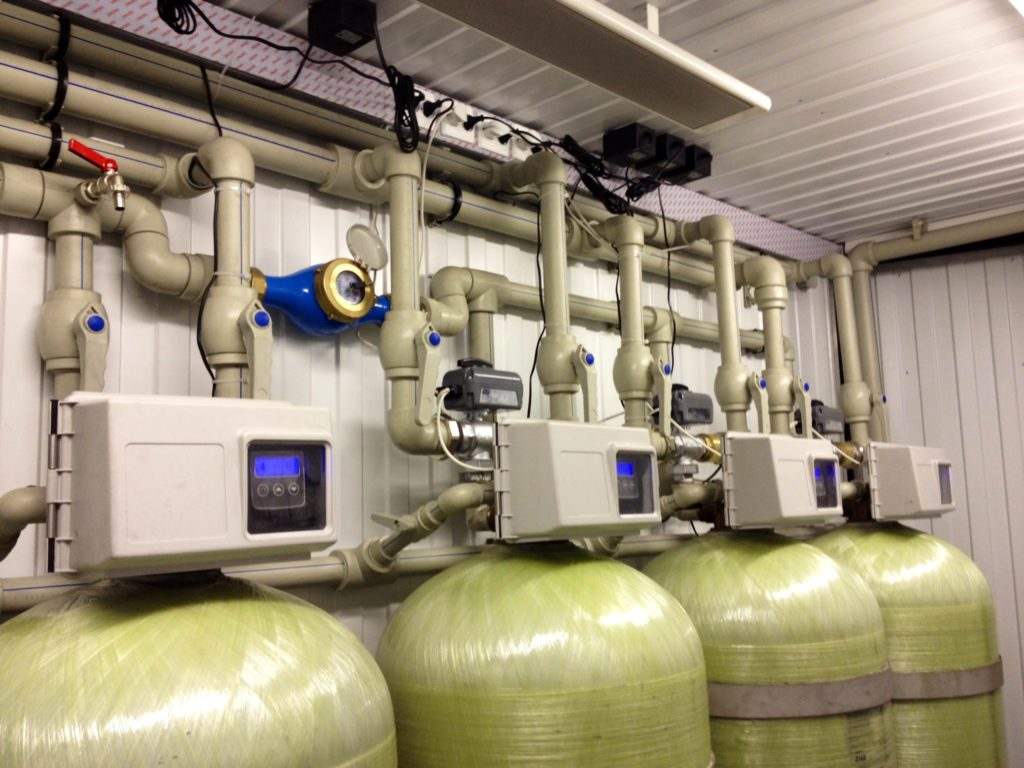 Промышленные установки умягчения воды