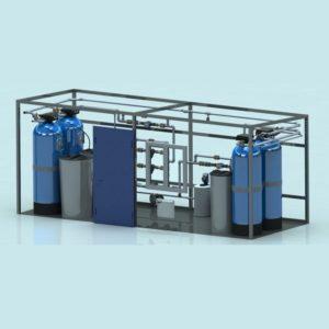 Блочно-модульные станции водоподготовки